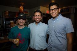 VIZ Party at Siggraph 2014 with Sebastian Kuwar and Ricardo Montes.