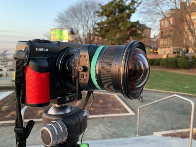 Fuji GFX 50R with 19mm Nikon Lens