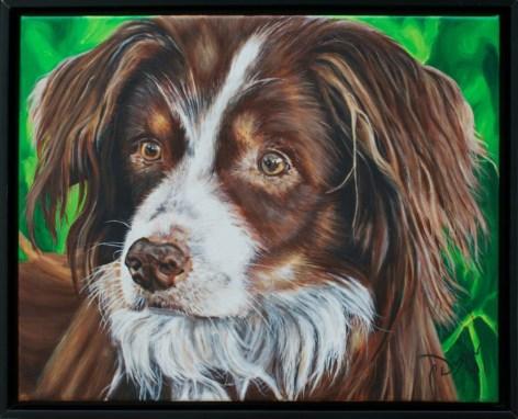 2013-04 – Commissioned Pet Portrait Painting by Cameron Dixon – Cedi