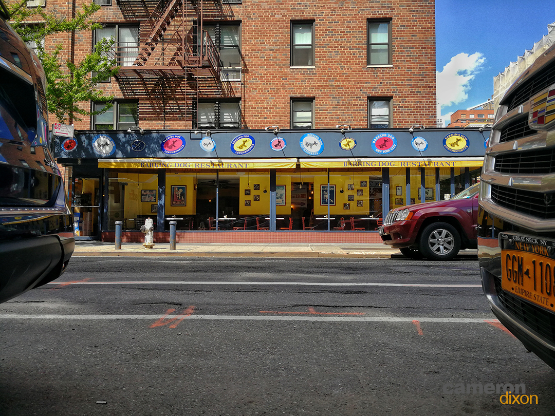 2017-05 - Barking Dog Restaurant New York-Cameron-Dixon