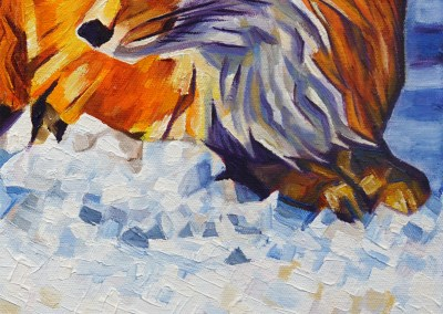 DSC00060 - 2017-03 - Painting - Twilight Fox 1080px-front-detail-d-cameron-dixon