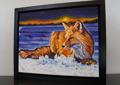 DSC00067 - 2017-03 - Painting - Twilight Fox 1080px-frame-left-cameron-dixon