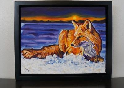 DSC00068 - 2017-03 - Painting - Twilight Fox 1080px-frame-front-cameron-dixon