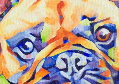 Popart-frenchie by Cameron Dixon-1080px-detail