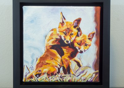 2017-05-cameron-dixon-two-fox-cubs-front-framed-1080px