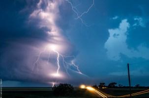 June 4 2015 Selden Kansas Supercell Lightning