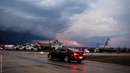 april 9 2015 rochelle fairdale illinois grubsteakers tornado