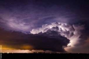 2/28/17 Supercell near Dwight, IL