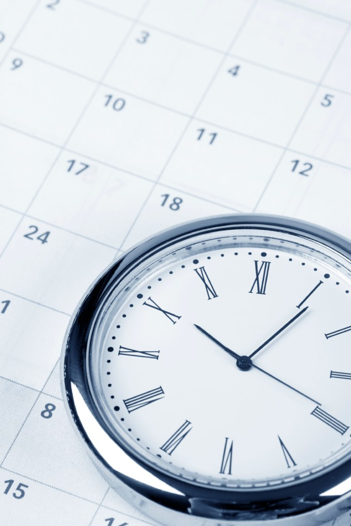 Cameron Patterson & Co Business Accountant - calendar and clock