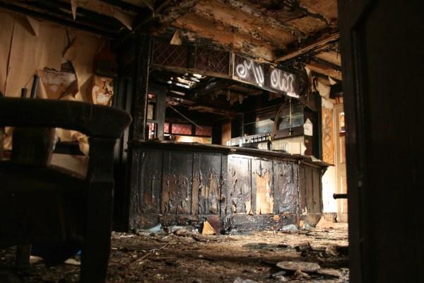 abandoned pub   Cameron's Exploration & Travel Blog.
