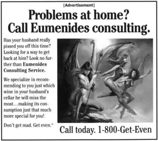 Eumenides Consulting ad