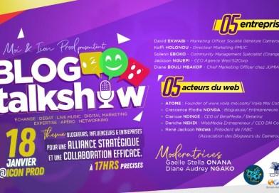 Le blog Talk Show entre en scène à Douala