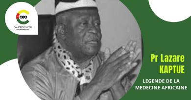 HOMMAGE : Pr Lazare KAPTUE, légende de la médecine africaine