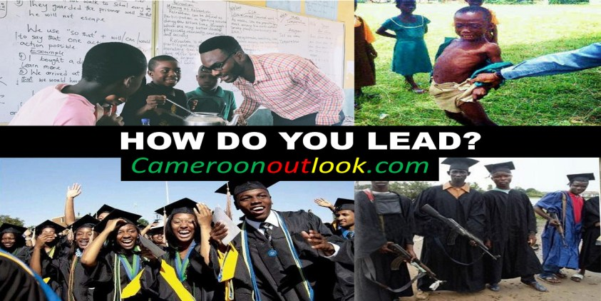 HOW DO YOU LEAD? Cameroon Outlook - Opinion