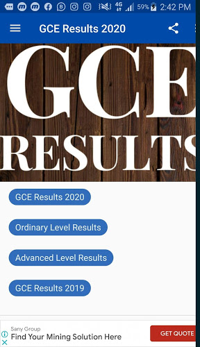 GCE Results 2020 O/A Level