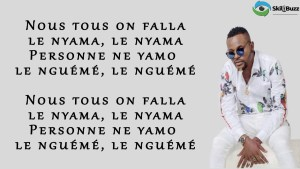 LE NYAMA (Parole/Lyrics) - AVEIRO DJESS