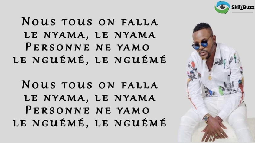 LE NYAMA (Parole/Lyrics) - AVEIRO DJESS