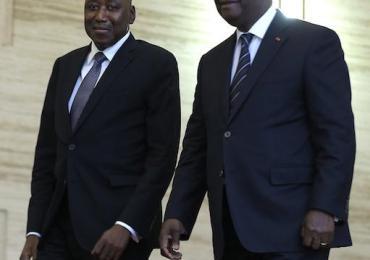 Ouattara à Paris pour débrancher le premier ministre Amadou Gon