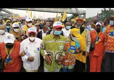 """R.D. Congo : La marche de protestation avec la présence de """"Kabila"""" et Shadari qui révulse les Congolais"""