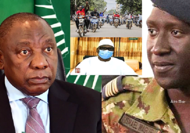 Mali : Ramaphosa (UA) exige la libération de IBK et le retour à un régime civil, le Colonel Wague (CNSP) donne les raisons du Coup d'Etat