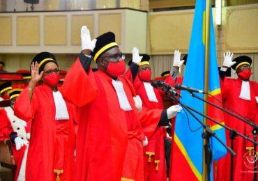R.D. Congo - Prestation de serment des juges de la cour constitutionnelle : Sus au procès en sorcellerie !