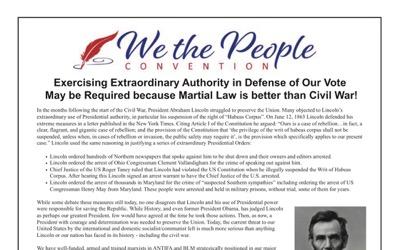 USA : le général Flynn appelle à suspendre la Constitution (Réseau Voltaire)