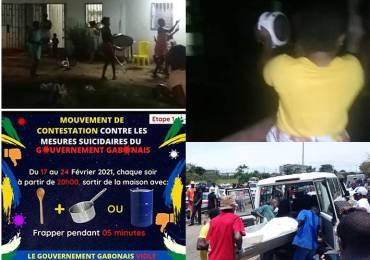 """Un Carnage Gabonais : Pour empêcher la Covid de tuer, la police d'Ali Bongo tue des manifestants du """"Mouvement des casseroles"""""""