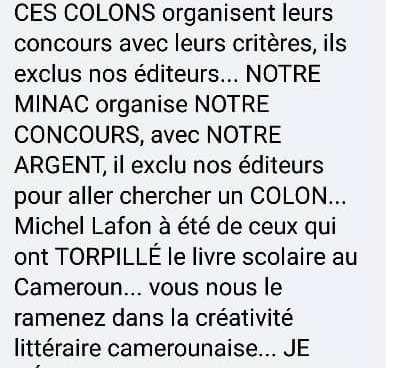 Art littéraire : Le Cameroun confie son concours littéraire national a la France