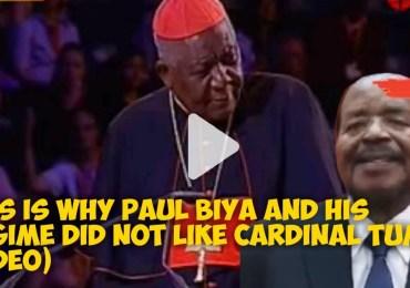 Vie et Mort du Cardinal Tumi : le régime Biya débarrassé d'un empêcheur d'entuber en rond, le  Cameroun perd une autorité morale hors-pair