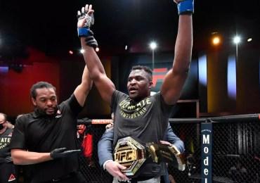 Les félicitations de Paul Biya au Camerounais Francis Ngannou nouveau champion du monde des poids lourds d'UFC