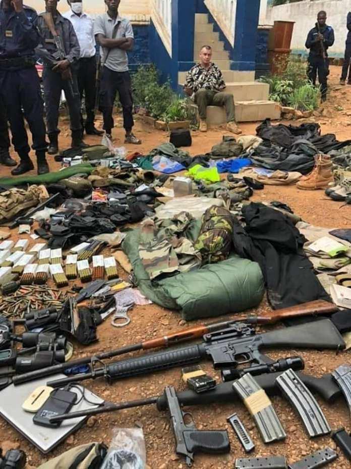 Scandale en Françafrique : Un terroriste français arrêté en RCA avec… armes et bagages ! - Cameroonvoice