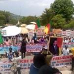 """Arbitraire au Cameroun : Un sous-préfet interdit la marche du MRC, un préfet et un ministre font marcher """"100.000"""" pro-Biya"""