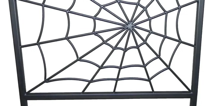 The Amazing Spider Web Bed Headboard