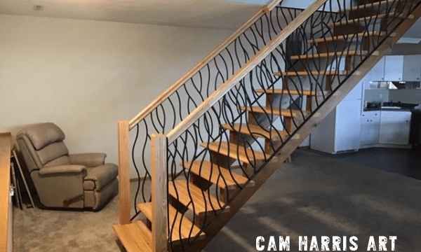 Stair railing transformation