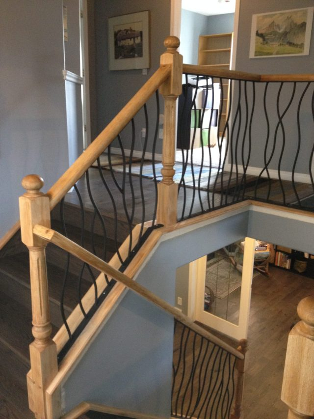 Lethaby Project BENT Iron Art Railing midway 4