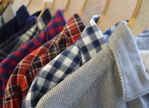 Camicie di flanella da uomo