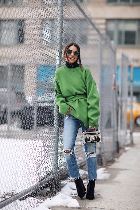 #NYFW17- Jeans e Moletom oversized camila coelho