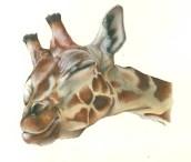 giraffa - acrilico liquido