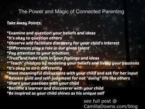 Power and Magic of Connected Parenting