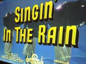 Singin' In the Rain Movie August 2016