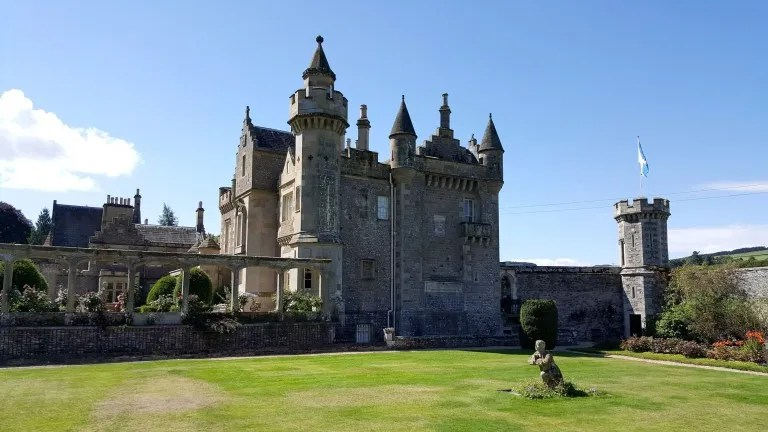 abbotsford house chateau écosse