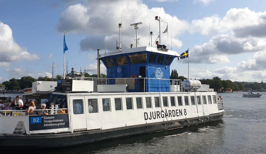 ferry à Stockholm