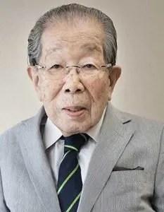 portrait du centenaire Shigeaki Hinohara