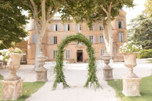wedding at chateau Robernier
