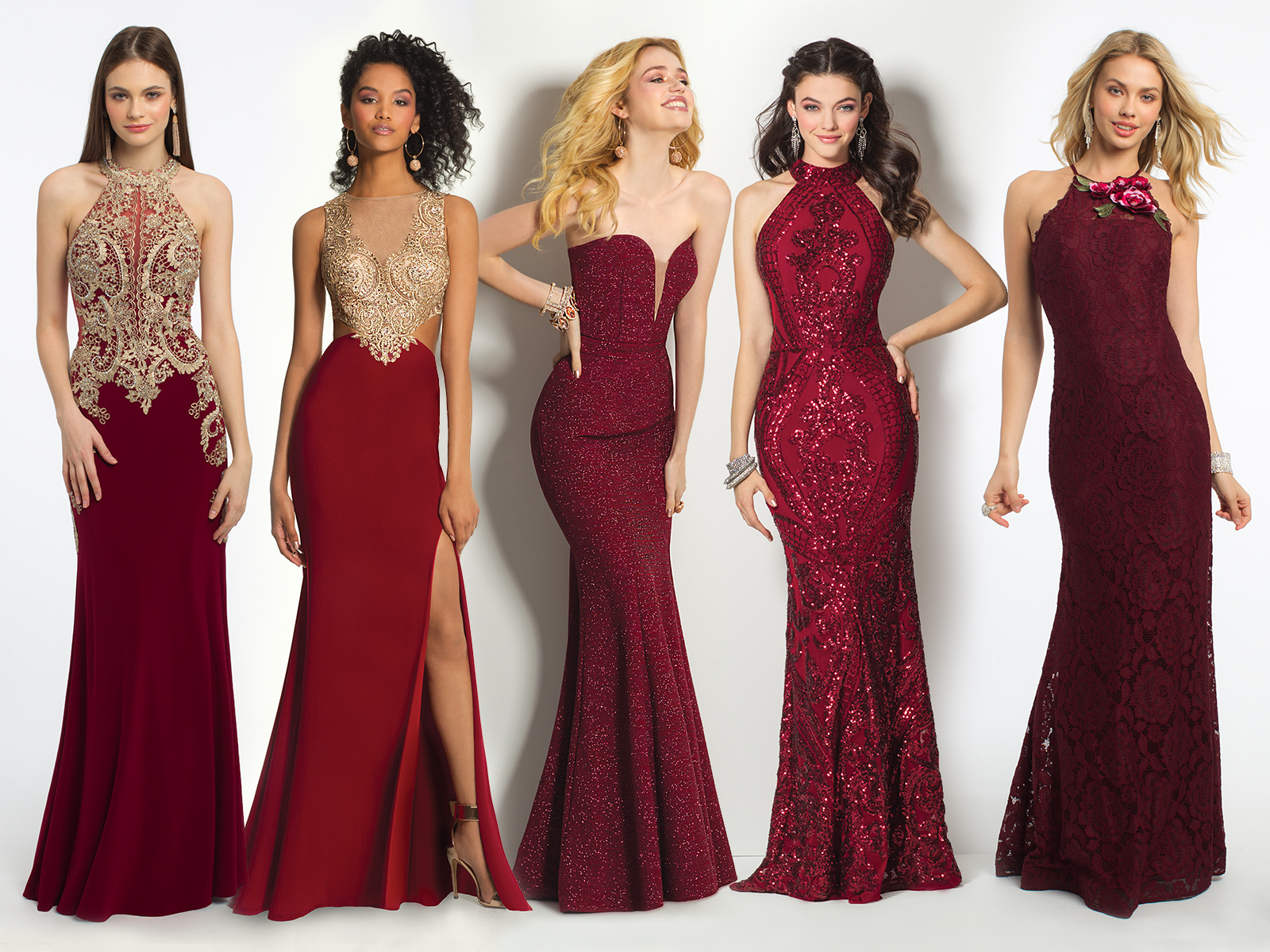 Red Prom Dresses Inspired By V-Day