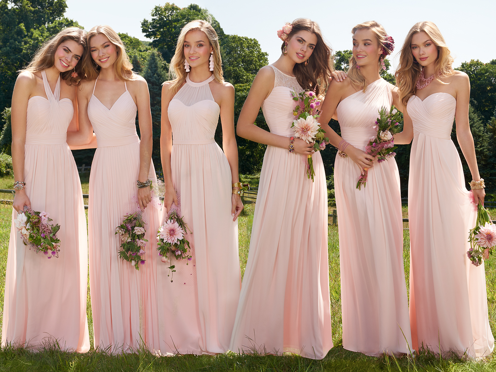 Effortless Bridal Party Style Starts Here