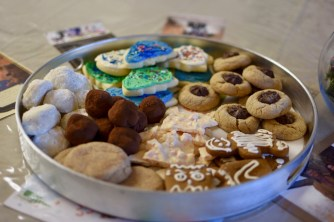 My selections of cookies -- all homemade