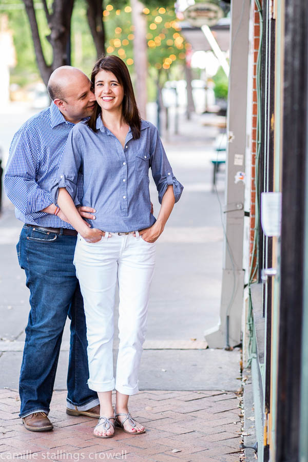 Engagement Session Bishop Arts District
