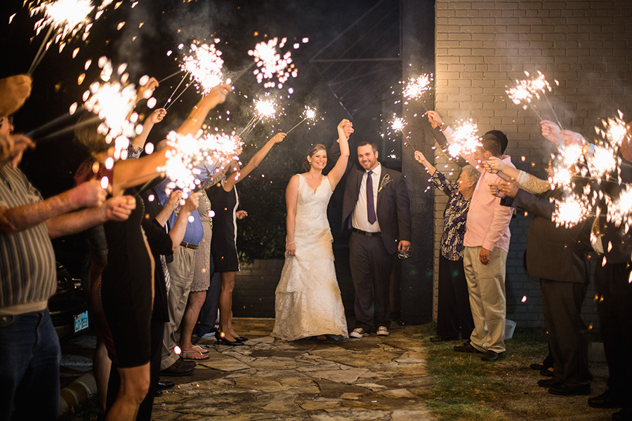 sparkler exit wedding pictures
