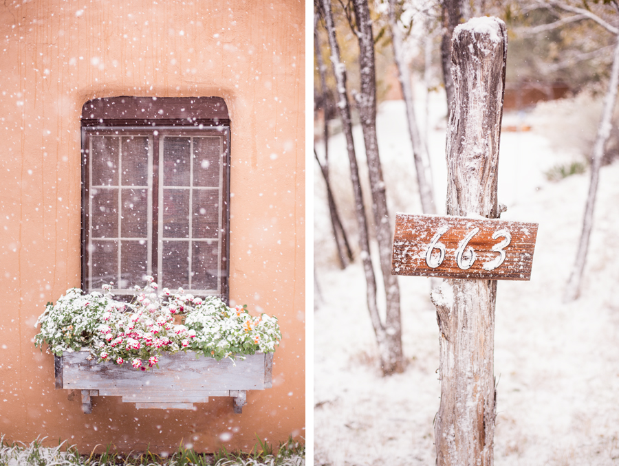 Winter Wedding Santa Fe